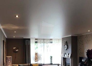 Серый матовый натяжной потолок для квартиры НП-1583 - фото 2