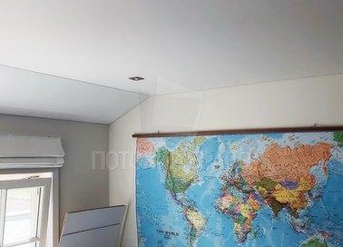 Матовый натяжной потолок под углом НП-1614