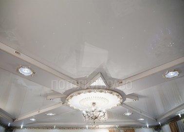 Матовый натяжной потолок в Дворцовом стиле НП-1617