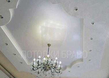 Матовый натяжной потолок в дворцовом стиле НП-1647 - фото 2