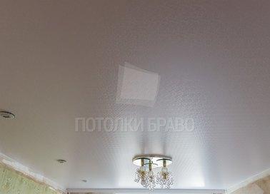 Сатиновый натяжной потолок под кожу НП-1712 - фото 2