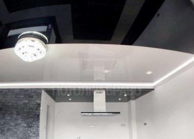 Матовый натяжной потолок для кухни НП-1817 - фото 2