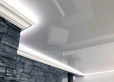 Матовый натяжной потолок для кухни НП-1817 - фото 3