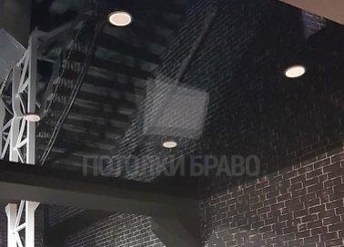 Глянцевый натяжной потолок в стиле Лофт НП-1872