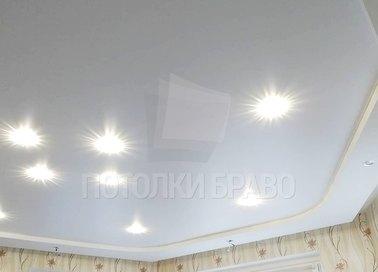 Матовый дворцовый натяжной потолок НП-1911