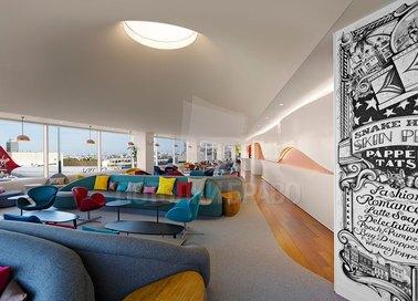 Белый матовый натяжной потолок для ресторана НП-102 - фото 4
