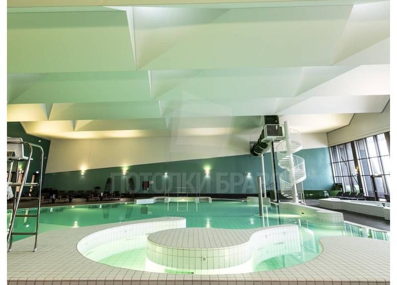 Сложный натяжной потолок для бассейна НП-148 - фото 3