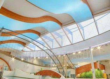Двухуровневый натяжной потолок для бассейна НП-150 - фото 2